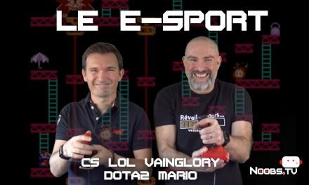 L'e-sport (compétitions de jeux vidéos en ligne), sur Noobs.tv
