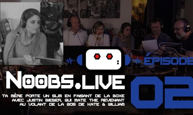 Noobs Live EP02 Chronique sport de Caro