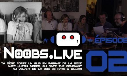 Noobs Live EP02 Chronique fashion de Nadra
