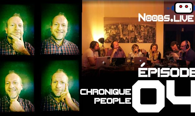 Noobs Live EP 04 – Chronique People sur les recettes pompettes par Fred