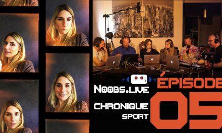 Chronique sport spéciale triathlon par Caroline Michau – Noobs Live EP05