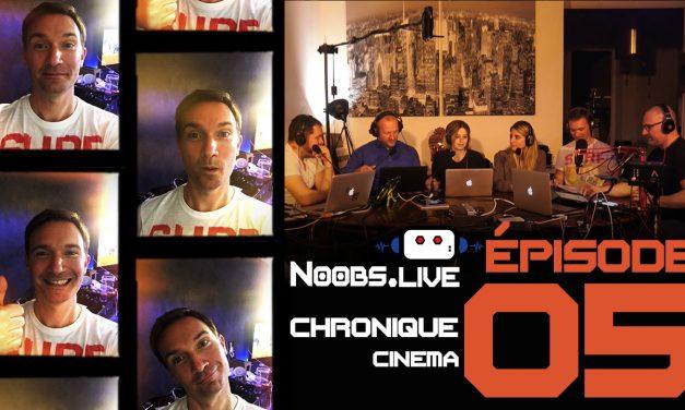 Chronique cinéma Grimsby Agent Trop Special par Christophe Michau – Noobs Live EP05