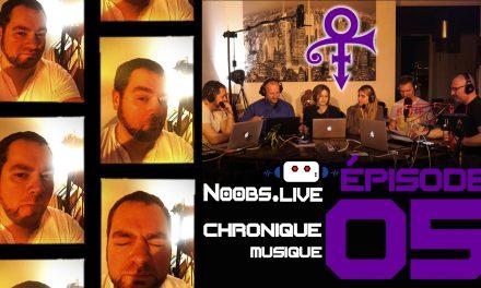 Chronique Musique sur Prince par Greg Druhen – Noobs Live EP 05