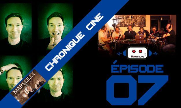Chronique séries Marseille sur Netflix par Christophe Michau – Noobs Live EP07
