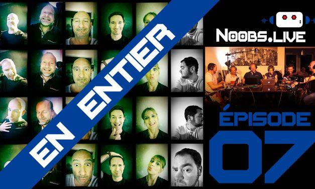 Noobs Live EP07 complet – Ta mère part de Marseille en voiture électrique pour monter les marches du Festival de Cannes à côté de Coldplay…bon ok dans ses rêves…merci les lunettes de réalité virtuelle !
