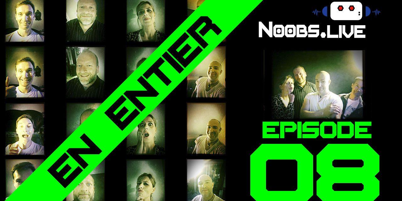 Noobs Live EP08 complet – Ta mère se parfume au café en faisant de la musique sur son iPhone avec Kim Kardashian !