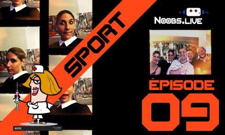 Chronique sport sur le dopage par Caro – Noobs Live EP09