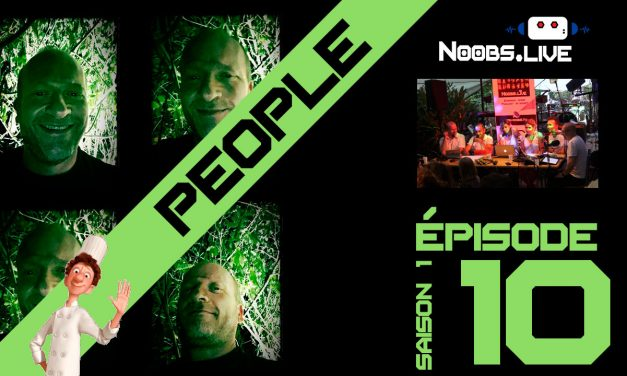 L'actu People par Fred Perret – Noobs Live EP10