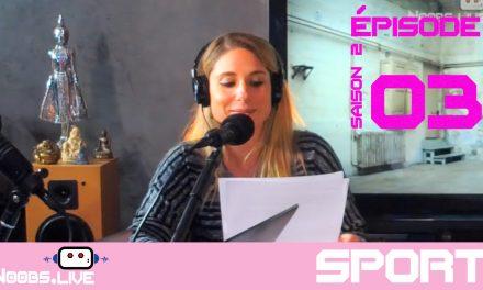 Pole Danse ce sport en chambre par Caro Noobs Live S02E03
