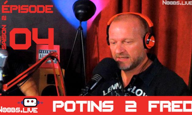 Potins ROCK par Fred Noobs Live S02E04
