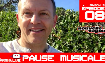 "M83 ""Do it, try it"" : la pause musicale – Noobs Live s02e08"
