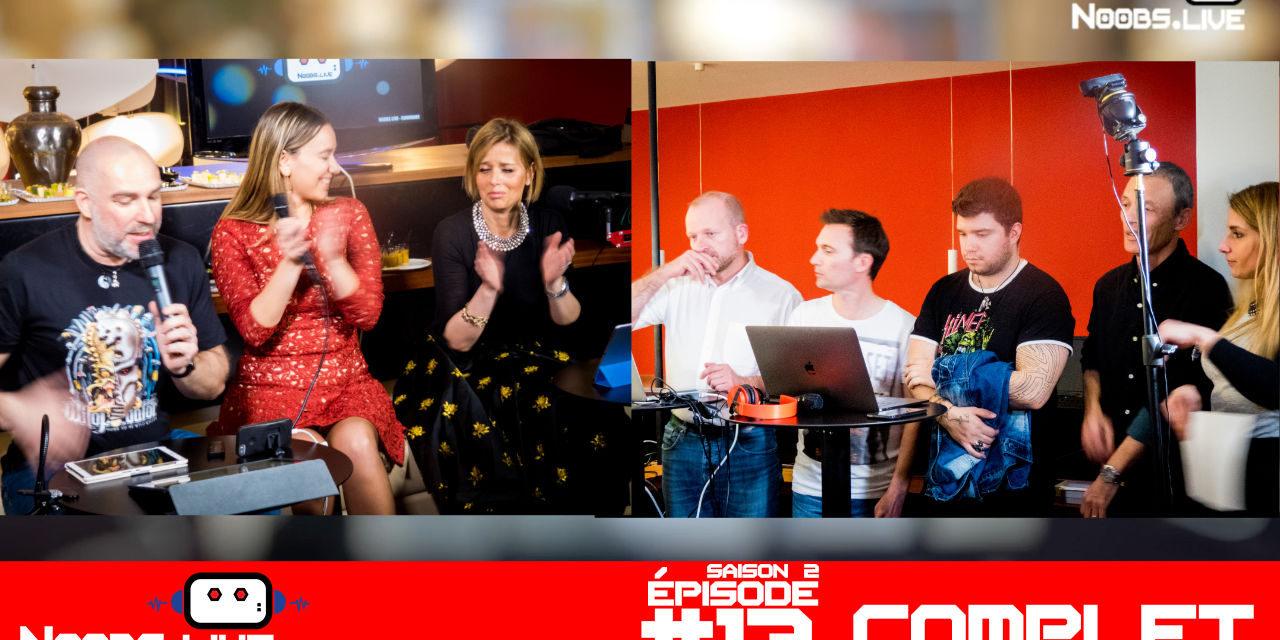 Noobs Live s02e13 Épisode complet
