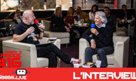 Interview de John McLaughlin par John Bouchet dans Noobs Live s02e16