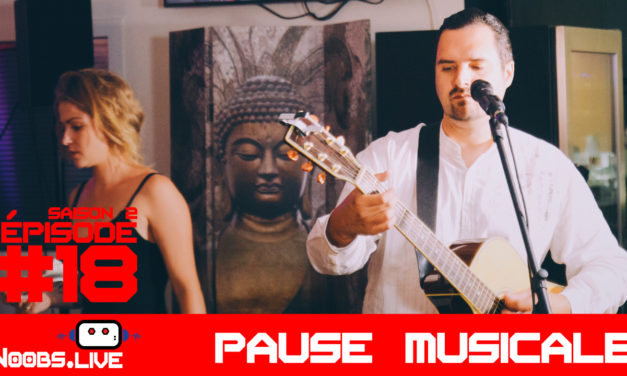 Christophe Pink Floyd Cover Wish You Were Here : la pause musicale – Noobs Live s02e18
