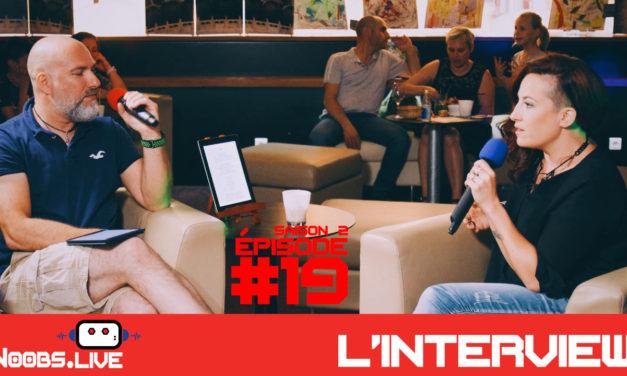 L'interview de Lily Berry – Noobs Live s02e19