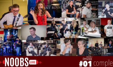 OC Brothers, VIE et NOLIJU – Noobs Live s03e01 – Pop Show (TV) !