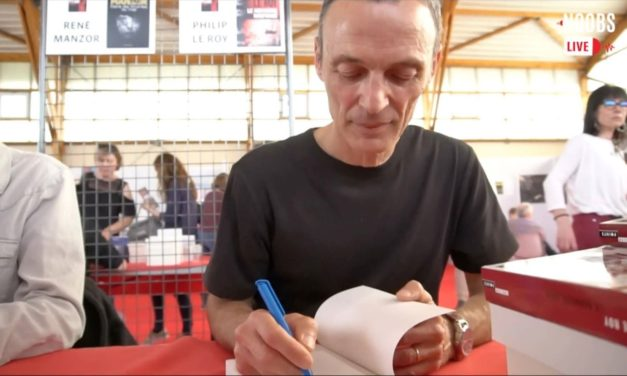 Philip Le Roy était au Festival du polar