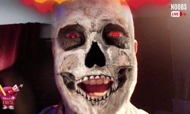Moules Frite & Pop News dans une émission spécial Halloween