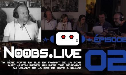 Noobs Live EP02 Chronique people de Fredp