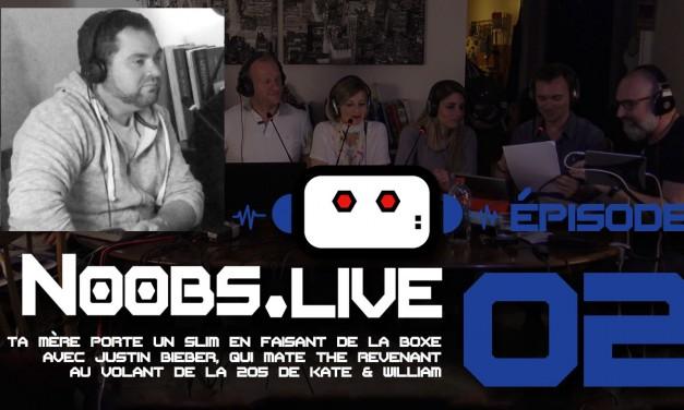 Noobs Live EP02 Chronique musique de Greg Druhen