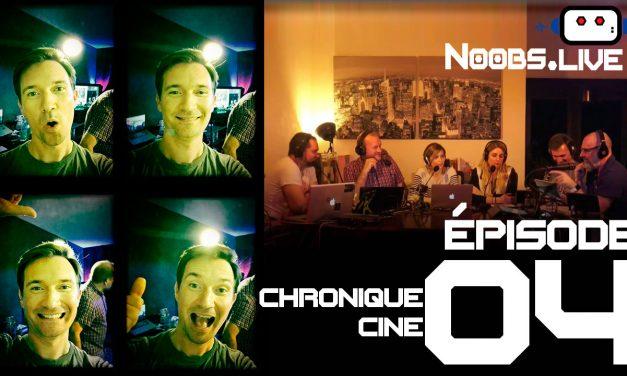 Noobs Live EP 04 – Chronique Ciné – Les 8 salopards par Chris