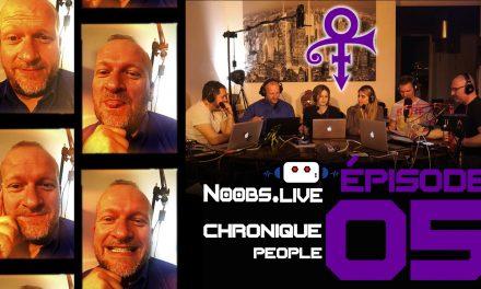 Chronique People sur Prince par Fred Perret – Noobs Live EP05