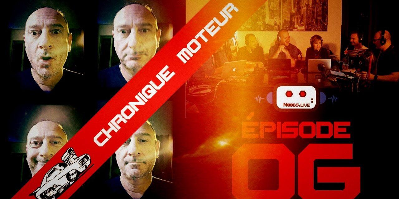 Chronique moteur spéciale femmes au volant par Fred Hosmalin – Noobs Live EP06