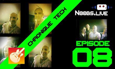 Chronique Tech spéciale Musique sur smartphone par John Bouchet – Noobs Live EP08