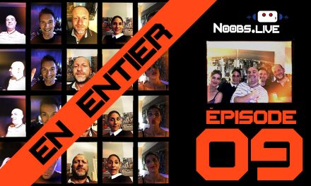 Noobs Live EP09 complet – Ta mère chez le coiffeur parle du film sur Kerviel, en voyant des Anglais se doper avec une coque étanche !