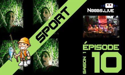 La Chronique sport insolite par Caro : La pêche – Noobs Live EP10