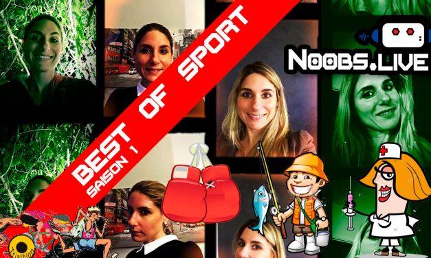 Best Of saison 1 spécial SPORT par Caro de Noobs Live