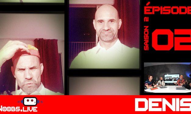 Denis, professeur d'Aikido, invité de Noobs Live