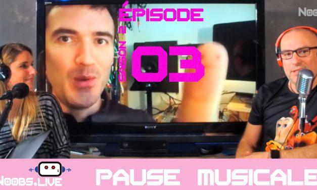Lupo du groupe Cairobi, la pause musicale de Noobs Live S02E03