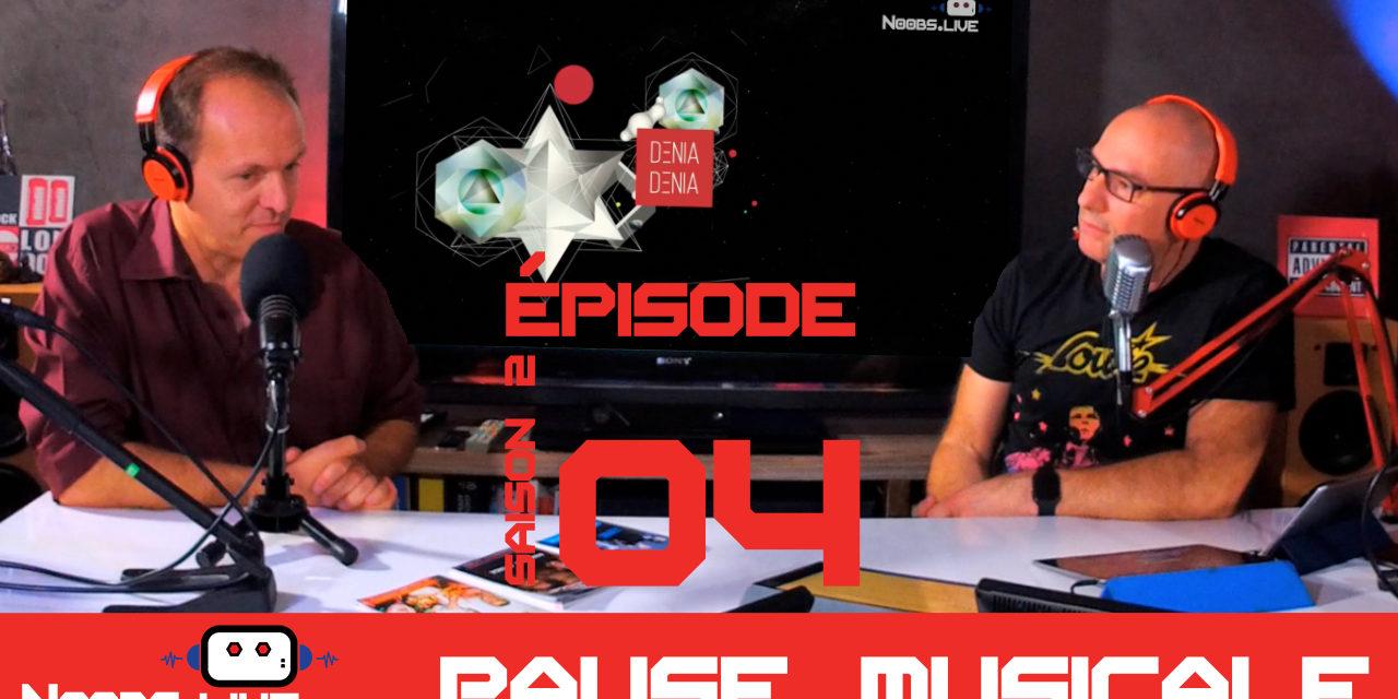TEMENIK ELECTRIC sort DENIA DENIA, la pause musicale de Noobs Live S02E04 en partenariat avec Nouvelle Vague, présenté par Philippe Perret
