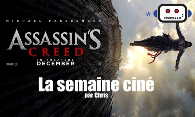 Semaine Ciné 21/12 – Assassin's Creed, Beauté Cachée, Joyeux B…