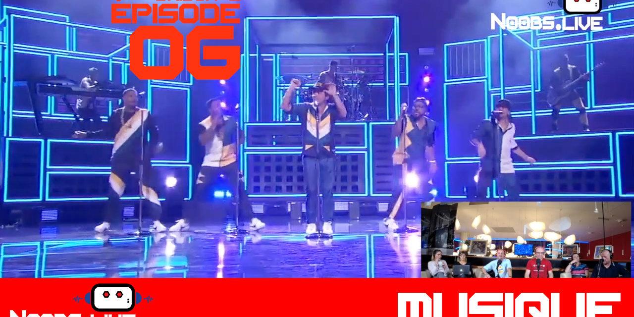 Bruno Mars – 24K Magic – Noobs Live s02e06