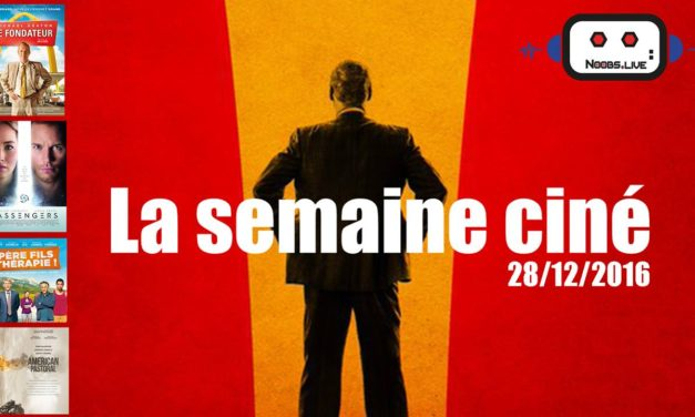 Semaine ciné du 28/12 : The Founder, American Pastoral, Passen…