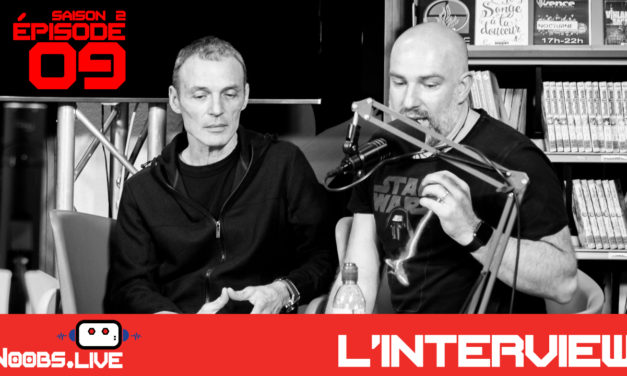 Philip Le Roy, scénariste écrivain – Noobs Live s02e09