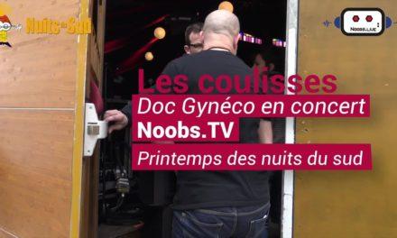 Coulisses Doc Gynéco pendant le Printemps des Nuits du sud à V…