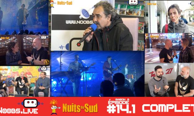 Noobs Live Spécial Festival du printemps des nuits du sud – complet
