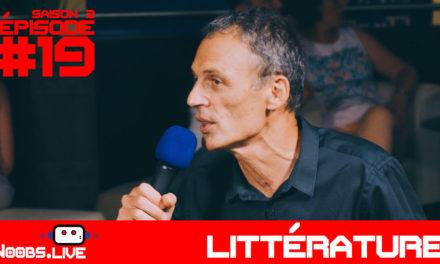 Le Grand Prix de Littérature Policière – Noobs Live s02e19
