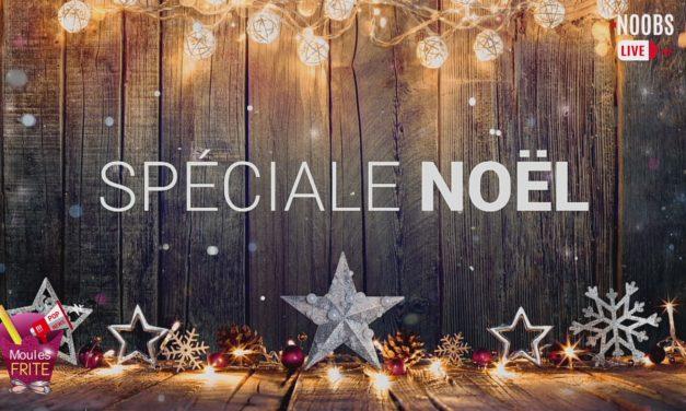 Les Noobs en live : Moules Frites / Pop News spécial Noël !!! Bonnes fêtes à tous !